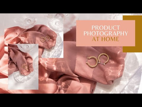 Product Photography At Home | Jewelry Photography