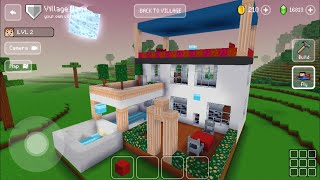 Block Craft 3D : Building Simulator Games For Free Gameplay #601 (iOS & Android) | Beautiful House