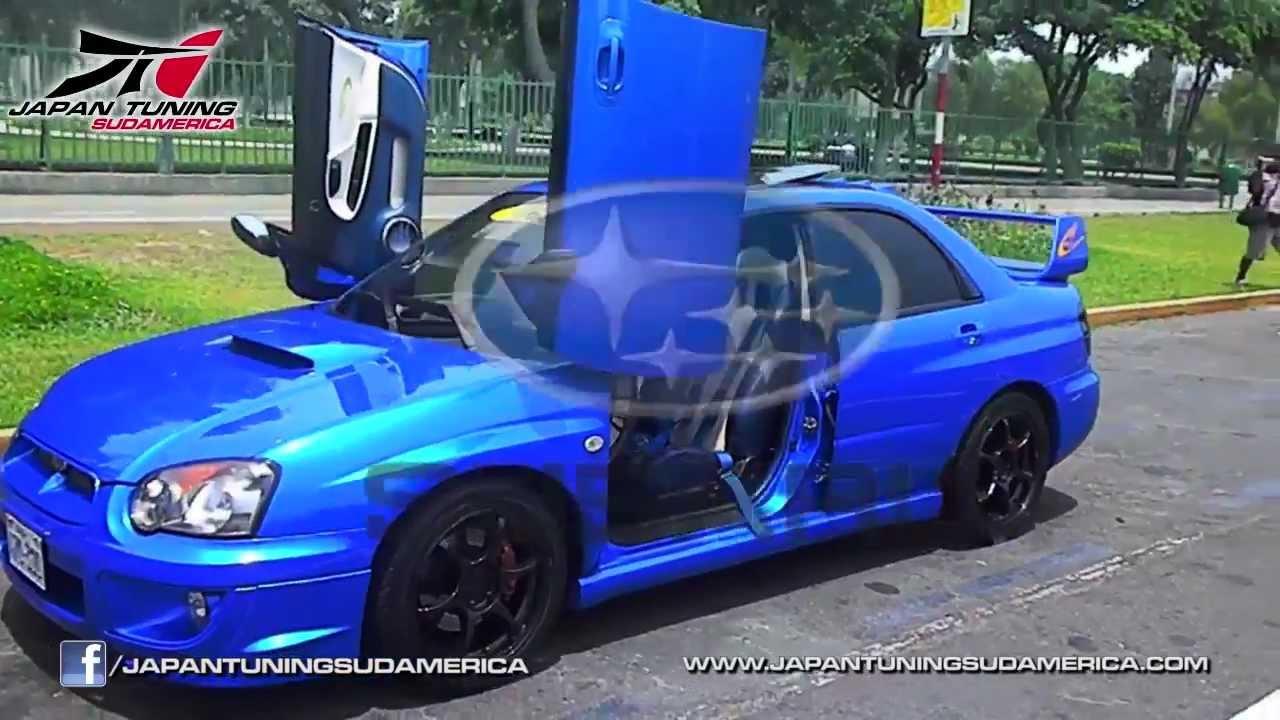 Subaru Wrx Lambo Doors Facebook Com Japantuningsudamerica