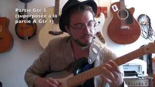 Long train running (Doobies Brothers) - Tuto guitare (Part 2/2) + TABS