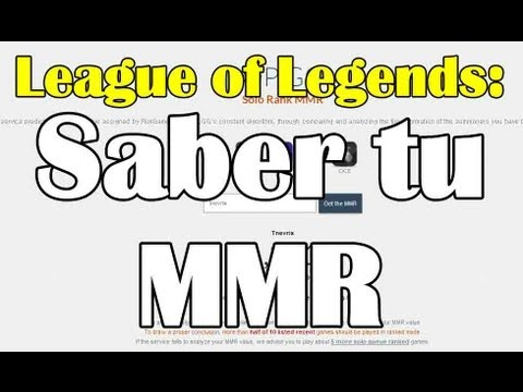 como saber mi mmr de league of legends youtube. Black Bedroom Furniture Sets. Home Design Ideas