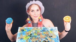 Download ASMR 🎨Tingling DRAWING using Food👣 will help you to relax, healing & deal with stress + GIVEAWAY Mp3 and Videos