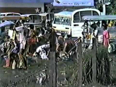 Dagupan City July 16, 1990 Earthquake video 1