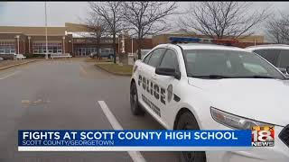 Fights at Scott County High School