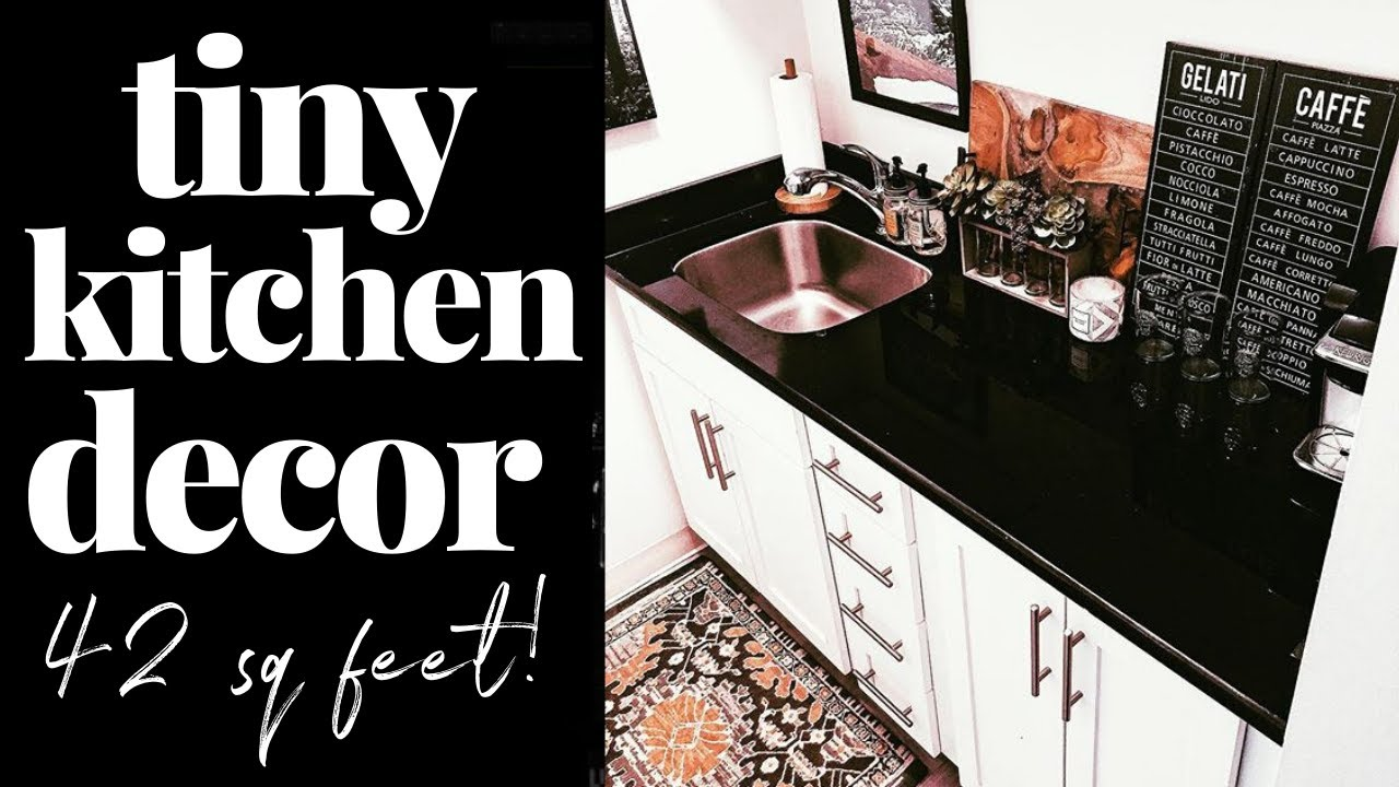 Small Apartment Kitchen Ideas How To Make A Tiny Kitchen Stylish Youtube