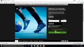 GET adidas ACE 16+ PURECONTROL Firm Ground Cleats FOR FREE