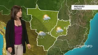 Previsão Centro-Oeste – Alerta para mais temporais