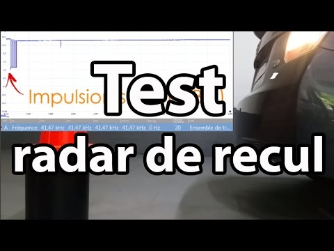 TEST RADAR DE RECUL