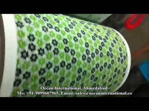 Rotogravure Printing Plant for Non Woven