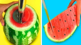 22 Simple Life Hacks with Watermelon!