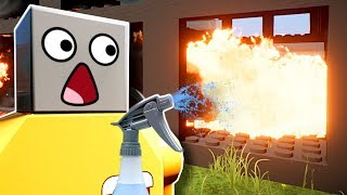 We Became the Worst Lego Firefighters EVER! - Brick Rigs Multiplayer Gameplay