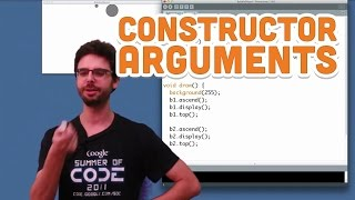 8.4: Constructor Arguments - Processing Tutorial