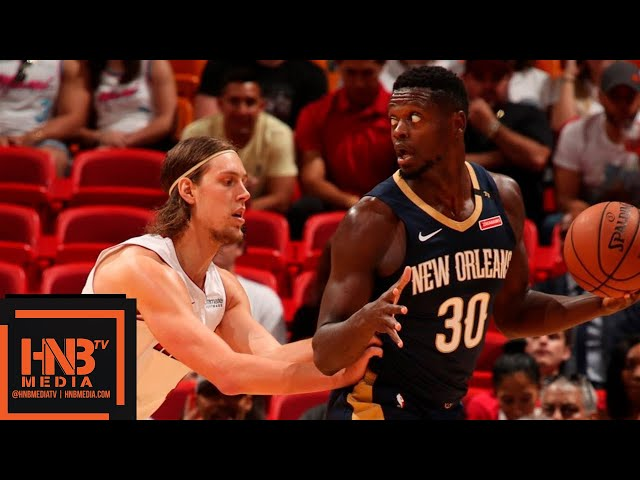 Miami Heat vs New Orleans Pelicans Full Game Highlights | 10.10.2018, NBA Preseason