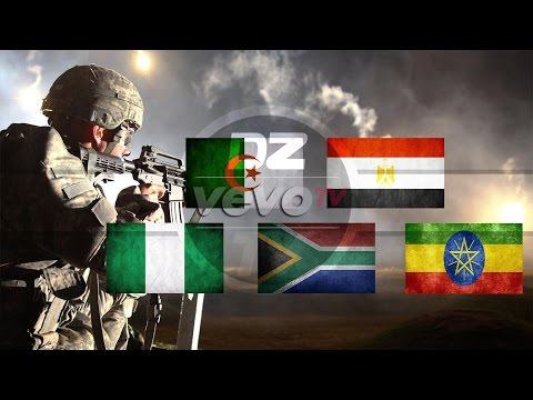Top 5 Military in Africa  2016 (Global Fire Power)