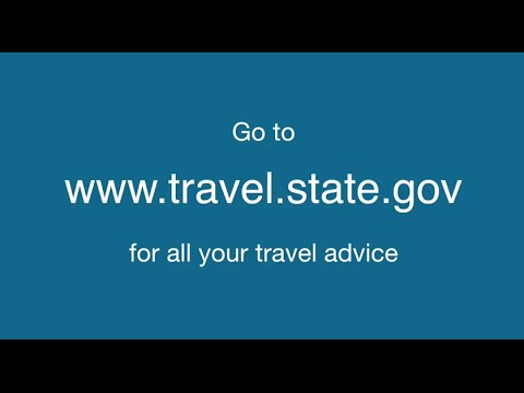 Advice to US Citizens on Traveling to Foreign Countries