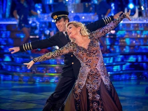 Fiona Fullerton & Anton American Smooth to 'Come Fly With Me'  Strictly Come Dancing  BBC One