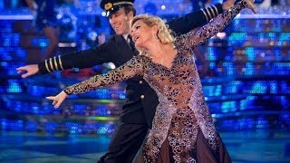 Fiona Fullerton & Anton American Smooth to 'Come Fly With Me' - Strictly Come Dancing - BBC One