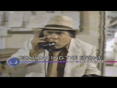 Romancing The Stone Showtime Commercial 1985