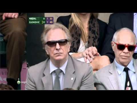 Alan Rickman - Wimbledon, London July 3, 2011