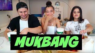 WINGSTOP MUKBANG ft. ERIKA VIANEY & DAVID ALVAREZ (we spill some tea...)