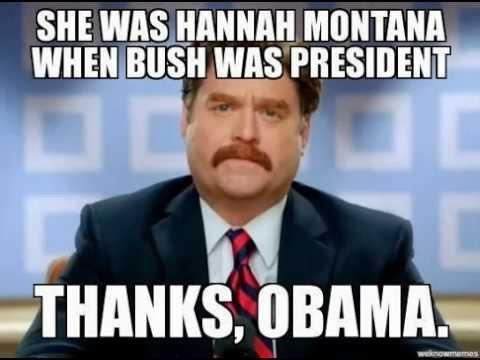 hqdefault obama hannah montana test meme thanks obama hannah montana youtube