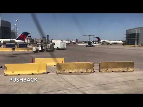 Delay And Missed Connection In Delta First Class! | Seattle - Minneapolis - Sioux Falls
