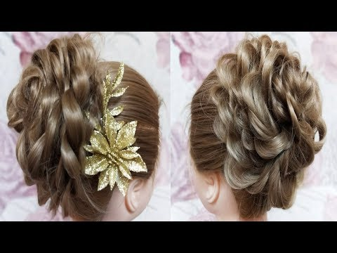 quick & easy messy bun hairstyles || how to do messy bun || hair bun || short hair hairstyles thumbnail
