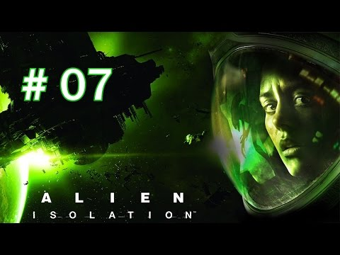 Let's Play Alien Isolation p7: Most Annoying Alarm EVER!
