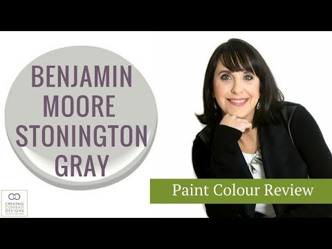 Benjamin Moore Paint Colour Stonington Gray