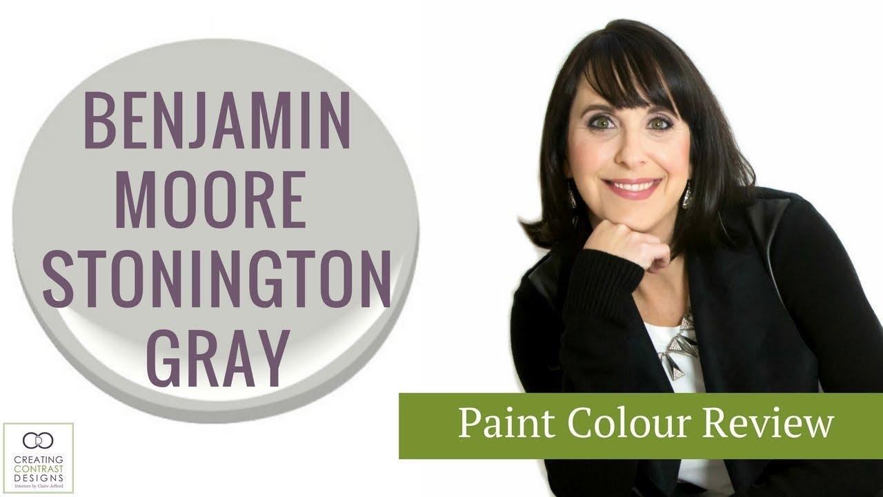 Benjamin moore paint colour stonington gray doovi for Stonington gray paint
