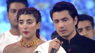 vuclip Ali Zafar pays tribute to Amjad Sabri   15th Lux Style Awards 2016   YouTube