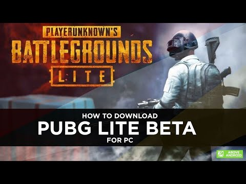 How to Download PUBG Lite Beta for PC in India : Above Android