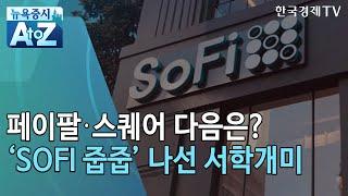 '락업 해제'로 급락한 소파이…줍줍 나선 서학개미/[뉴욕증시 A to Z]/한국경제TV뉴스