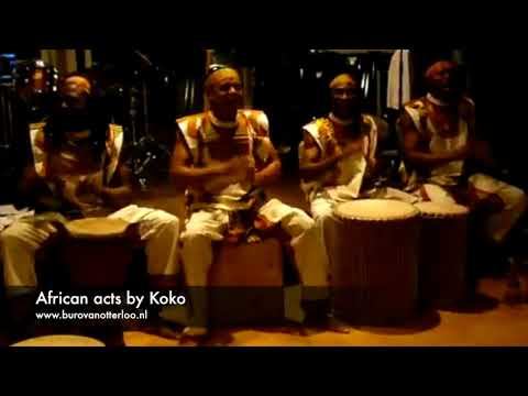 African music acts by Koko - African drums, vocals, dancing