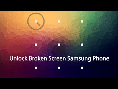 How to Unlock Android Phones with Broken Screen - YouTube