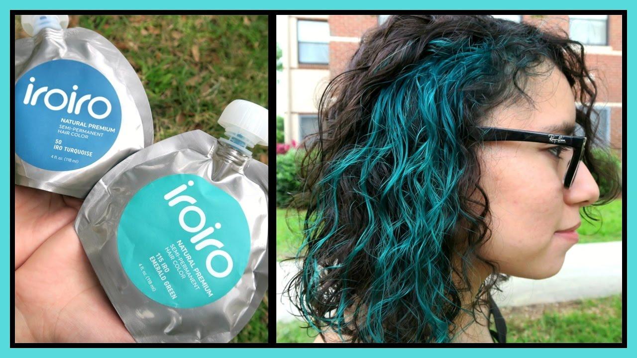 Iroiro Vegan Hair Dye Review Tutorial Youtube
