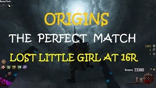 CoD:BO2 ORIGINS - THE PERFECT MATCH Little Lost Girl at round 16 (Solo) 1080p