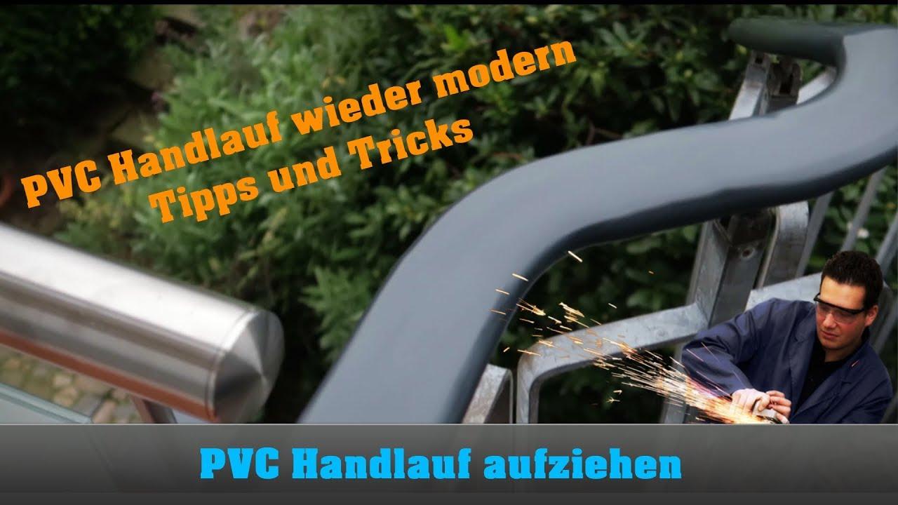 Super PVC Handlauf aufziehen - Dudelsack - Nachbearbeitung - YouTube PE45