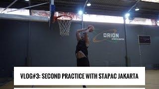 Vlog #3: Shooting Drills with Stapac Jakarta. Agassi, Ruslan & Kris Dunking After Practice!