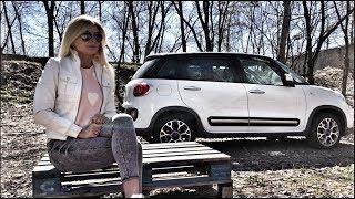 FIAT 500L Trekking.Доступный семейный автомобиль.Тест-драйв.KoshkaUSSR and Forsage7.