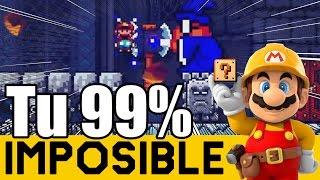 Niveles Potentes de Subs !! - 99% Imposibles de Suscriptores #7 | Super Mario Maker - ZetaSSJ