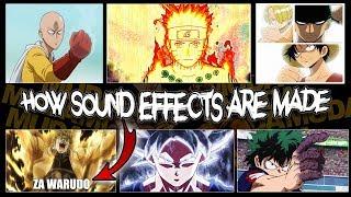 The Power of Anime Sound Effects (Naruto, Hunter x Hunter, Dragon Ball, JoJo ZA WARUDO etc)