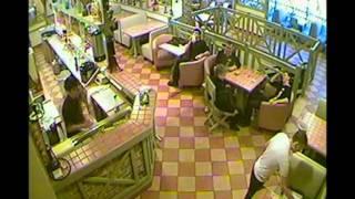 Данные камер видеонаблюдения кафе