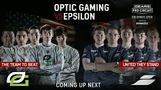 GEARS OF WAR 4 $300K MLG Optic vs Epslion (USA vs EUROPE)