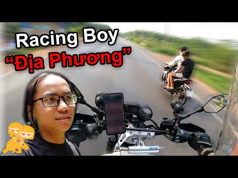 """Đi Phượt Cuối Tuần Gặp """"Racing Boy""""  Địa Phương - Xe Ôm Vlog"""