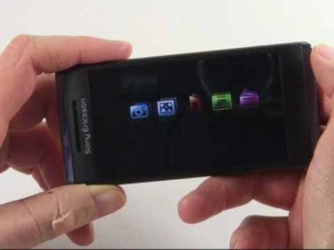 Sony-Ericsson Aino Test Bedienung