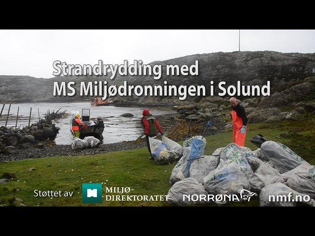 Miljømagasinet TV 4 2017 Strandrydding i Solund