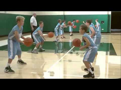 Passing Drill For Youth Basketball   Baker Drills   Review By George Karl
