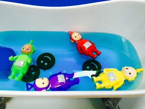 TELETUBBIES Toys Diving For TUBBY TOAST!