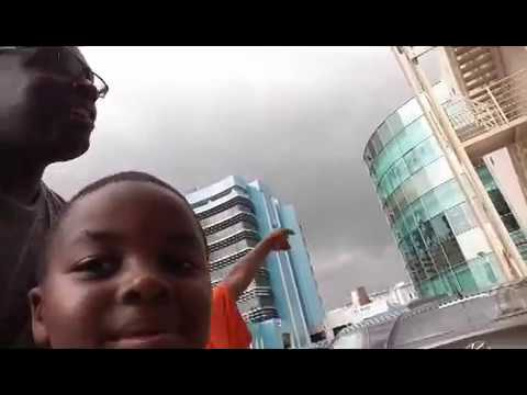 Denzel and Wesley hit Kids' Planet @Marina Mall in Accra